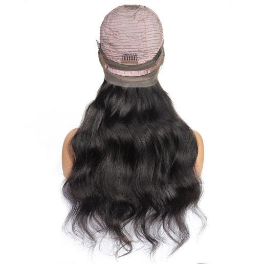 360 frontal wig 150 density body wave hair virgin human hair wigs