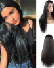 4x4 lace closure wig 100 unprocessed brazilian straight virgin remy human hair wigs