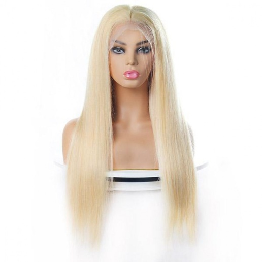 613 blonde wig 4x4 lace closure wig brazilian straight virgin human hair wigs on sale
