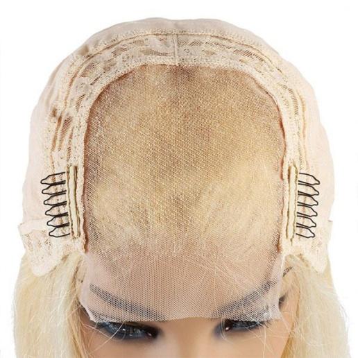 613 blonde wig 4x4 lace closure wig brazilian straight virgin human hair wigs on sale