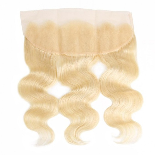 613 Blonde Loose Body Good Cheap Weave Hair 3 Bundles With 13*4 Lace Frontal