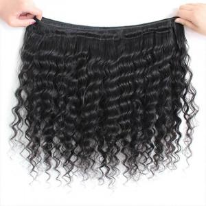 brazilian hair deep wave 4 bundles