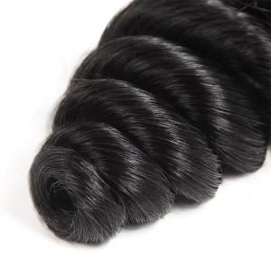 brazilian hair loose wave 4 bundles