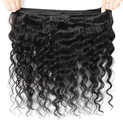deep wave frontal brazilian loose deep wave hair bundles with 13 4 ear to ear lace frontal closure