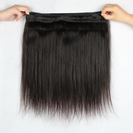 Brazilian Straight Hair Weave 4 Bundles Remy Human Hair Extensions