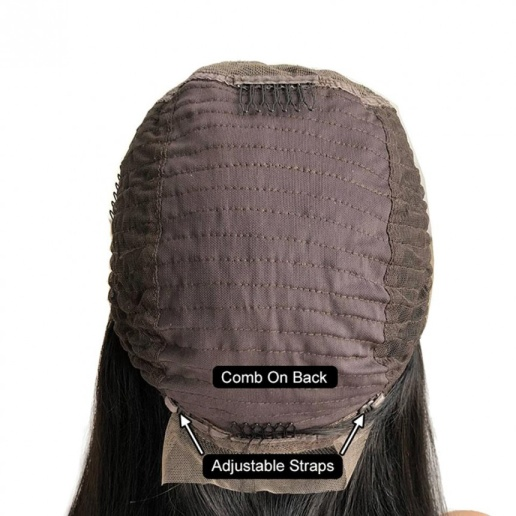 Loose Deep Wave 13x6 Lace Frontal Wigs Virgin Human Hair Pre Plucked