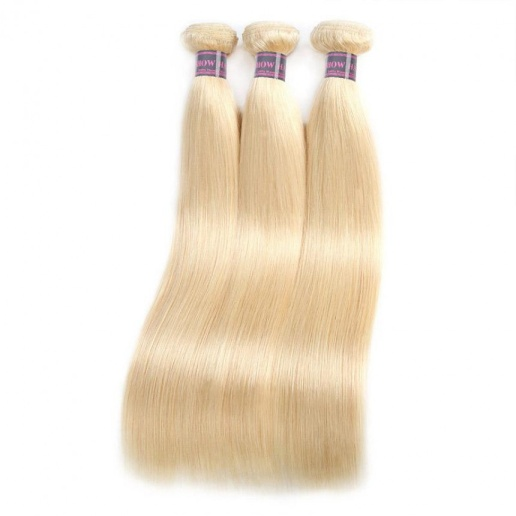 colored brazilian hair bundles 613 blonde straight hair 4 bundles virgin brazilian human hair