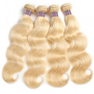 hair blonde body wave hair 4 bundles brazilian human hair