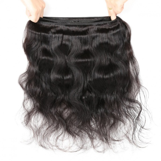 Body Wave Human Hair Bundles 8-28 Inch Natural Color 1 Piece Human Hair Extension