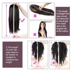 13X4 Brazilian Body Wave Lace Front Human Hair Wigs