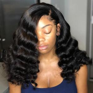 Brazilian Loose Deep Wave 4 Bundles Virgin Human Hair Weave