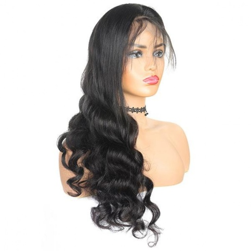 Cheap Brazilian Loose Deep Wave 4x4 Lace Closure Wig 100% Unprocessed Human Hair