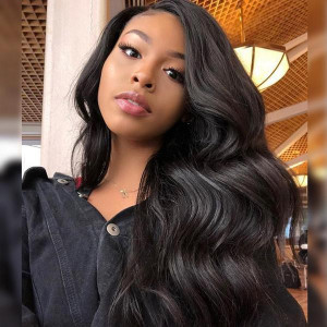 cheap peruvian body wave lace front wigs
