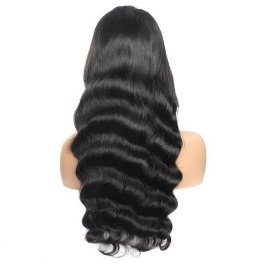 Loose Wave Brazilian Virgin Hair 4x4 Lace Closure Virgin Remy human Hair Wigs