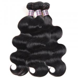 Virgin Malaysian Human Hair Weave Body Wave Weave Styles 3 Bundles