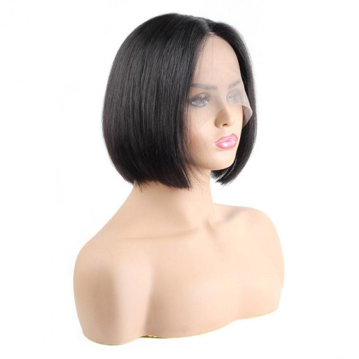 Straight Short Bob Wig Human Hair Wigs