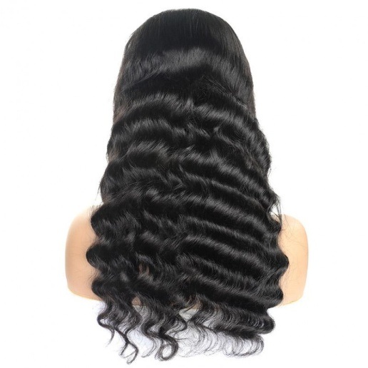 Brazilian Loose Deep Wave Lace Frontal Human Hair Wigs