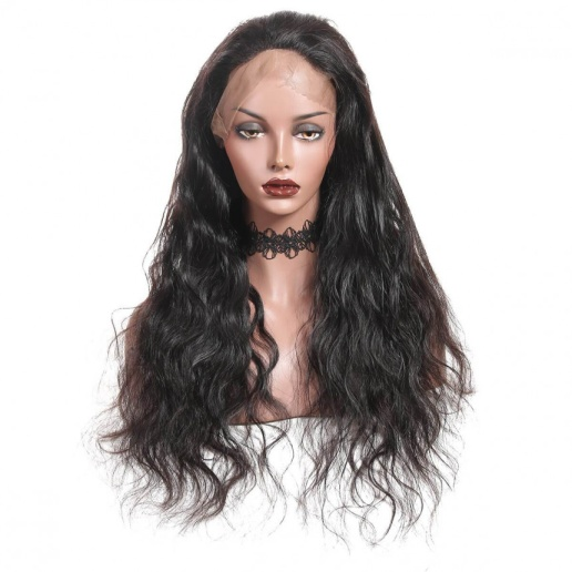 Indian Body Wave Lace Front Wig Peruvian Remy Human Hair Wigs