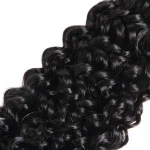 Indian Curly Hair 4 Bundles Virgin Human Hair Extensions