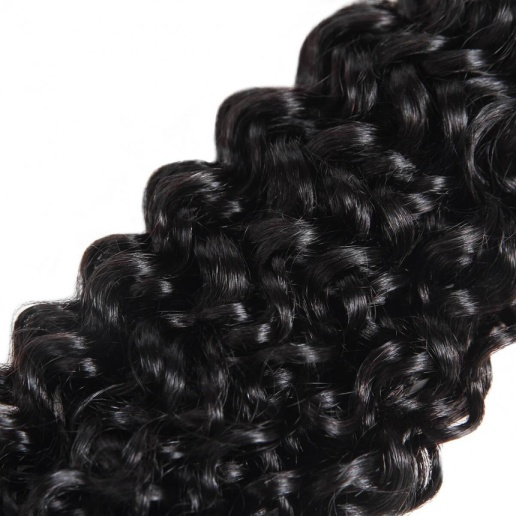 Indian Curly Hair 4 Bundles Virgin Human Hair Extensions