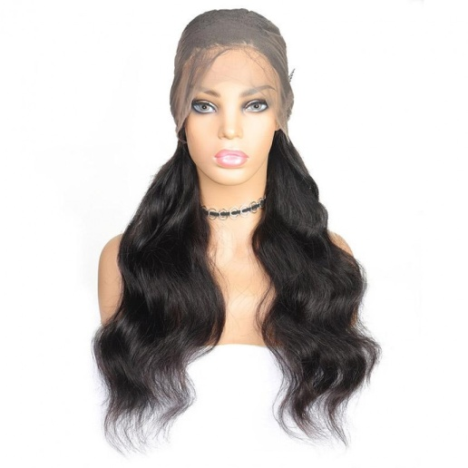 indian hair wig 360 lace front body wave virgin human hair wigs