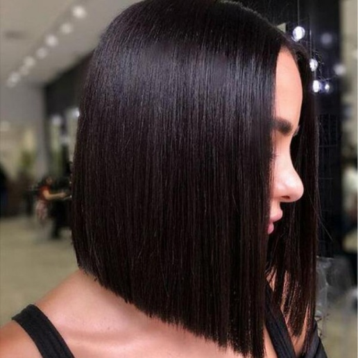 indian short bob hair wig middle part lace closures human hair wigs