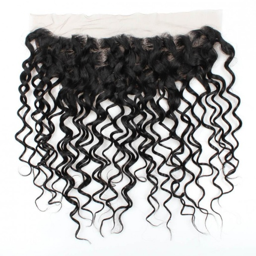 malaysian hair water wave 3 bundles with 4x13 lace frontal