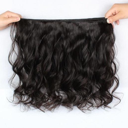 Peruvian Loose Wave Hair 3 Bundles With 360 Lace Frontal Ishow Human Hair Bundles