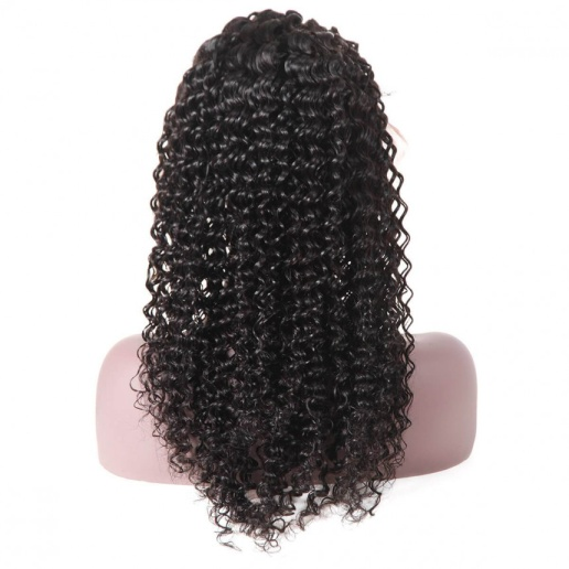 Curly Hair Lace Front Wig 100% Virgin Remy Human Hair Wigs