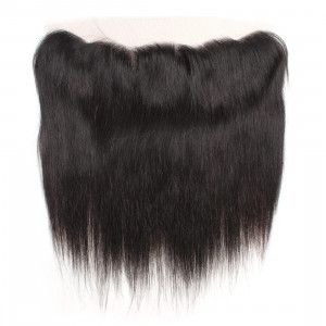 straight hair 13 4 ear to ear lace frontal closure with baby hair