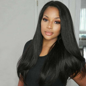 Virgin Indian Straight Human Hair 3 Bundles Human Hair Extensions